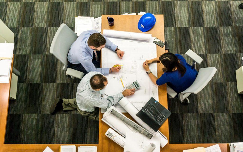 office design, collaboration, teamwork